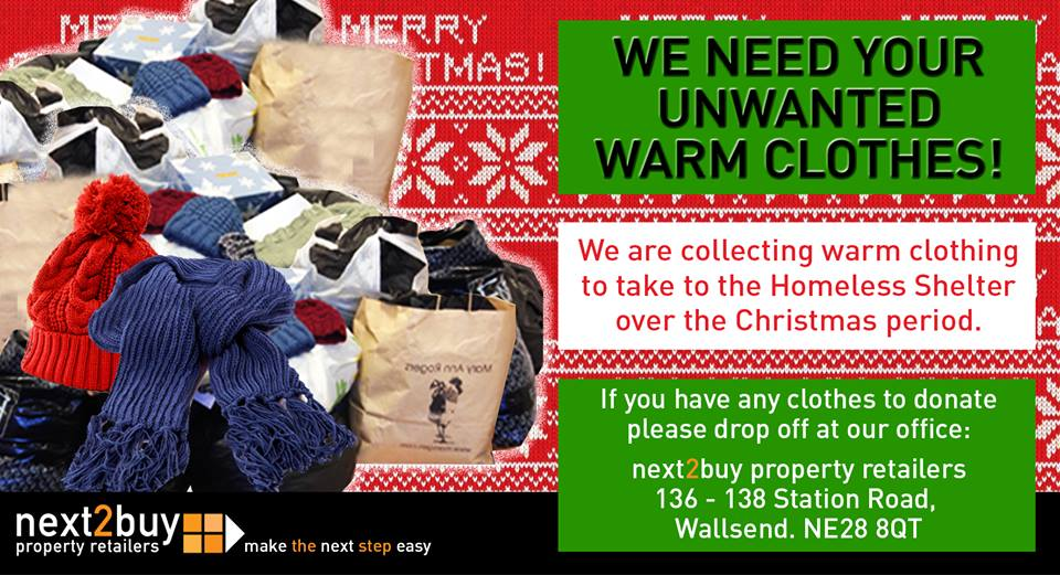 Do you have any unwanted warm clothes?