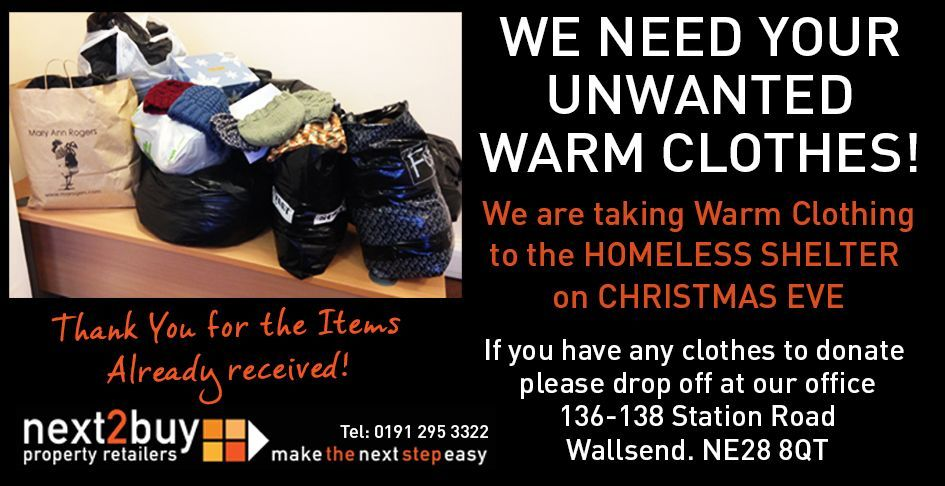 Help the Homeless of our Region!