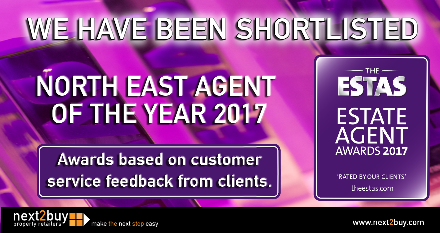 WE HAVE BEEN SHORTLISTED