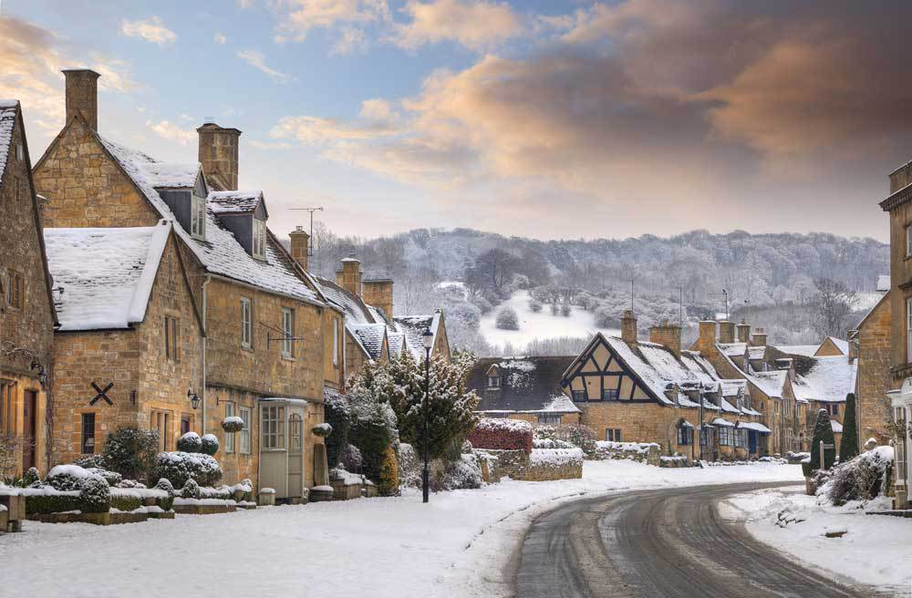 The UK's prettiest winter villages