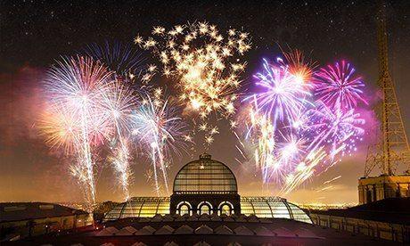 Homes near the UK's best firework displays