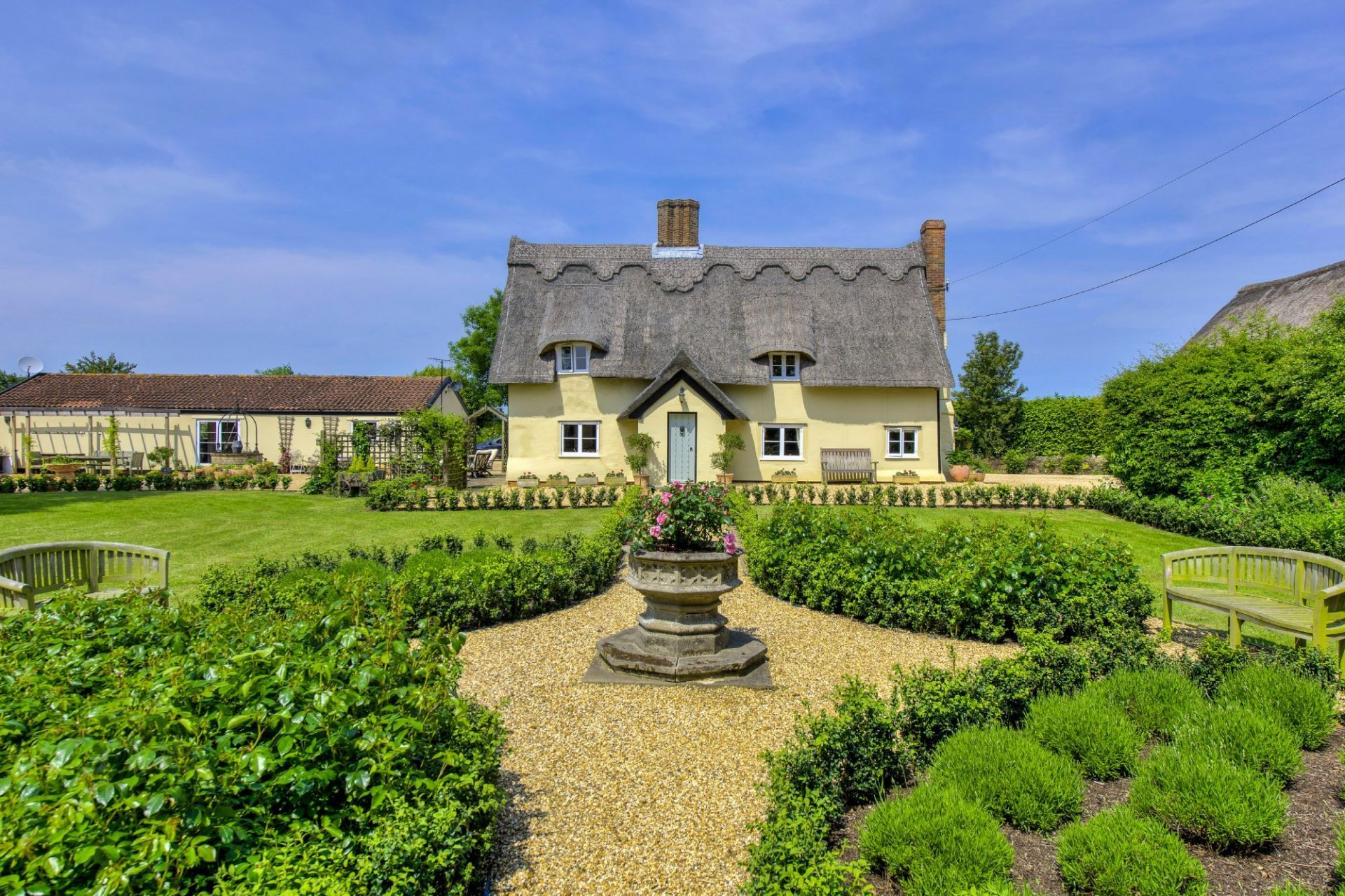 Eight bedroom main manor and a separate four bedroom gatehouse - Here Is A Charming Detached Grade Ii Listed Farmhouse With Superb Gardens The Outbuildings Located In An Idyllic Location Close To The Village Church And