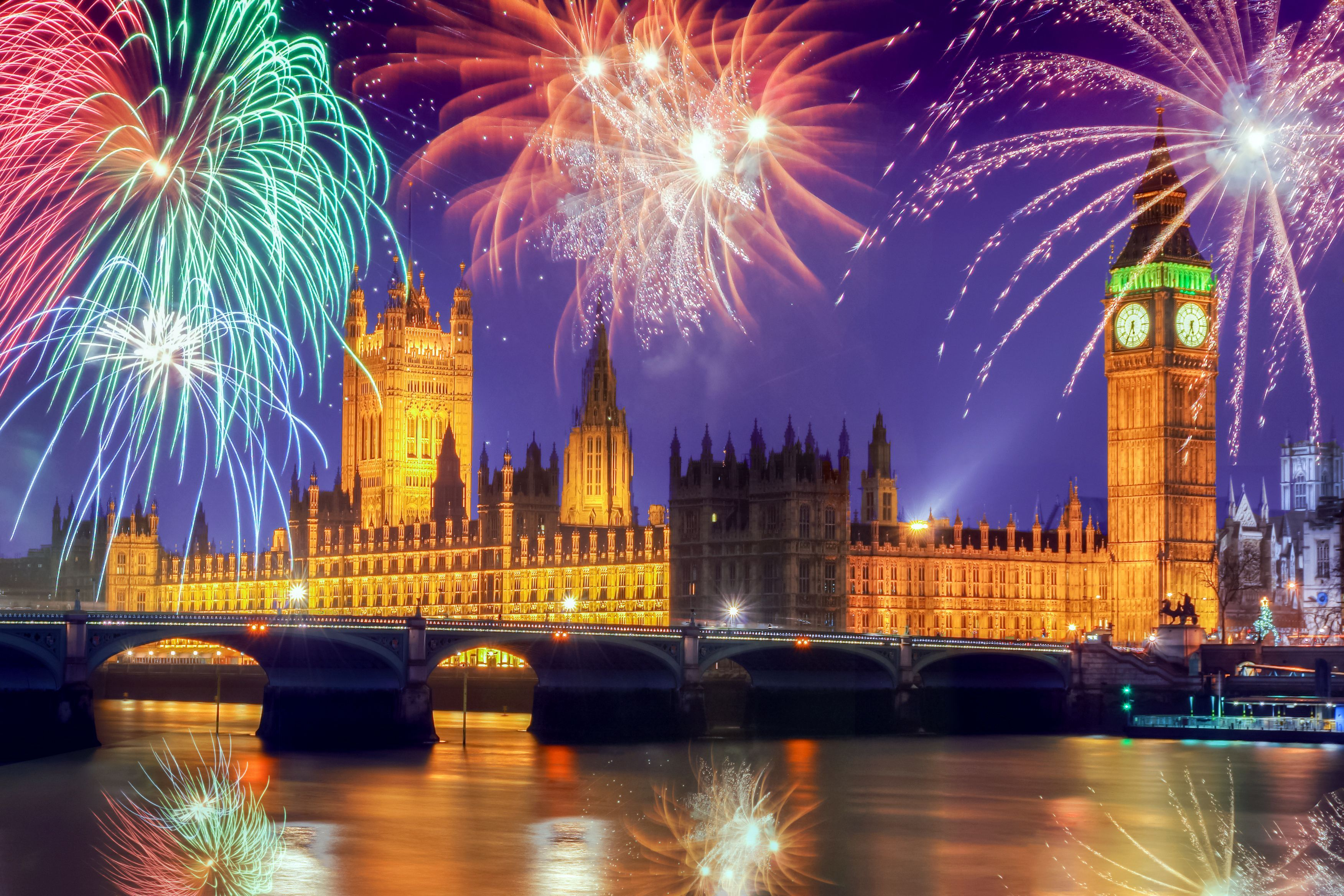 Britain's best places to spend New Year's Eve