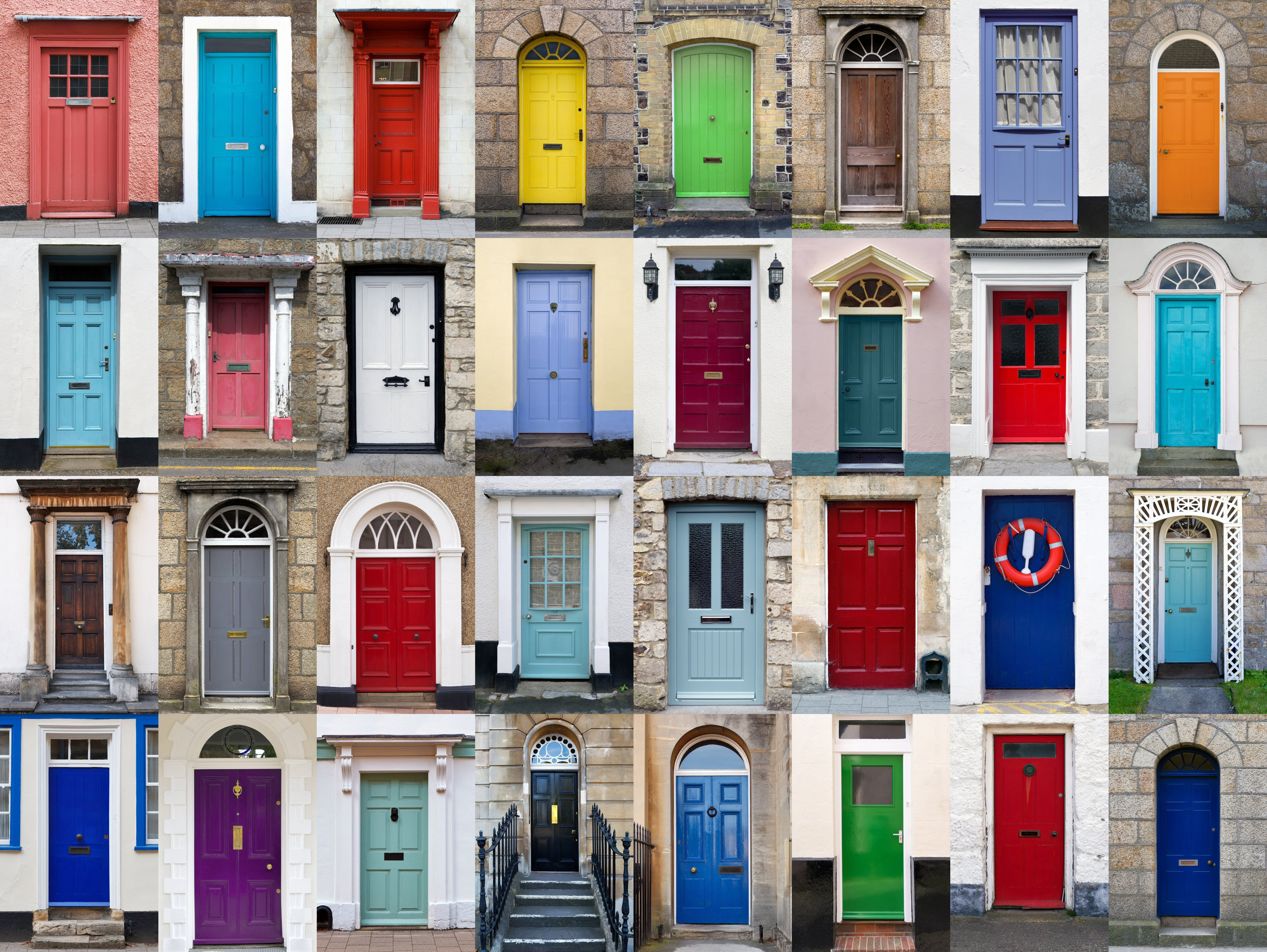What colour door sells your home the fastest?
