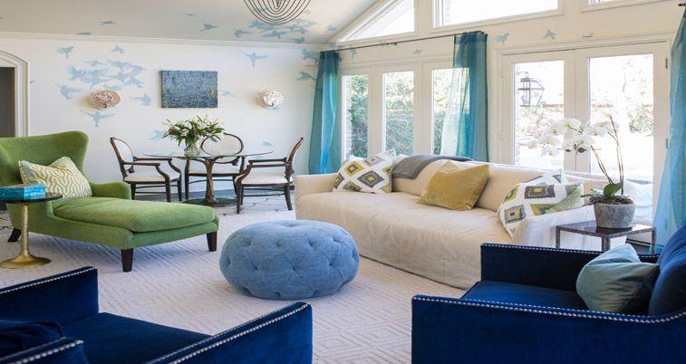 Family friendly design by award-winning interior designer Heather Garrett
