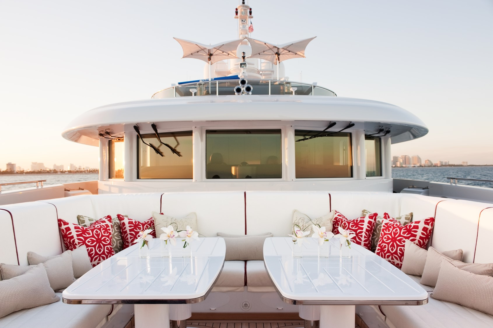 Designing the interiors of a multi-million pound yacht for the super-elite