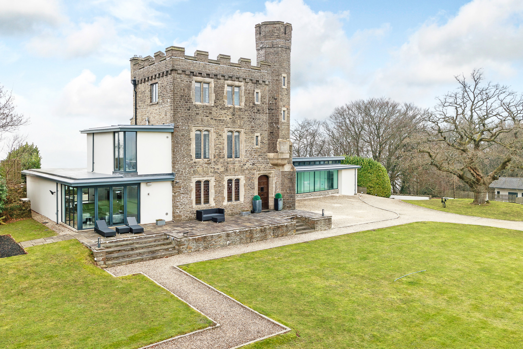 Video Grand Designs Renovated Folly In Monmouthshire For