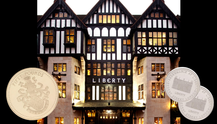 Win £100 to spend at Liberty London