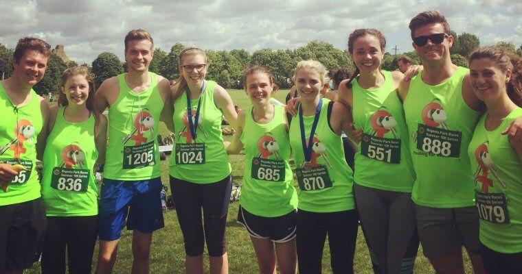 Another Successful Year: Head Office takes part in Housing for Women's 10k Run