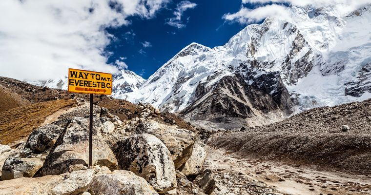 The Foundation tackles Everest Base Camp