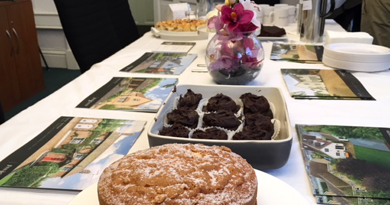 Piece of cake: Fine & Country Bedford's coffee morning success