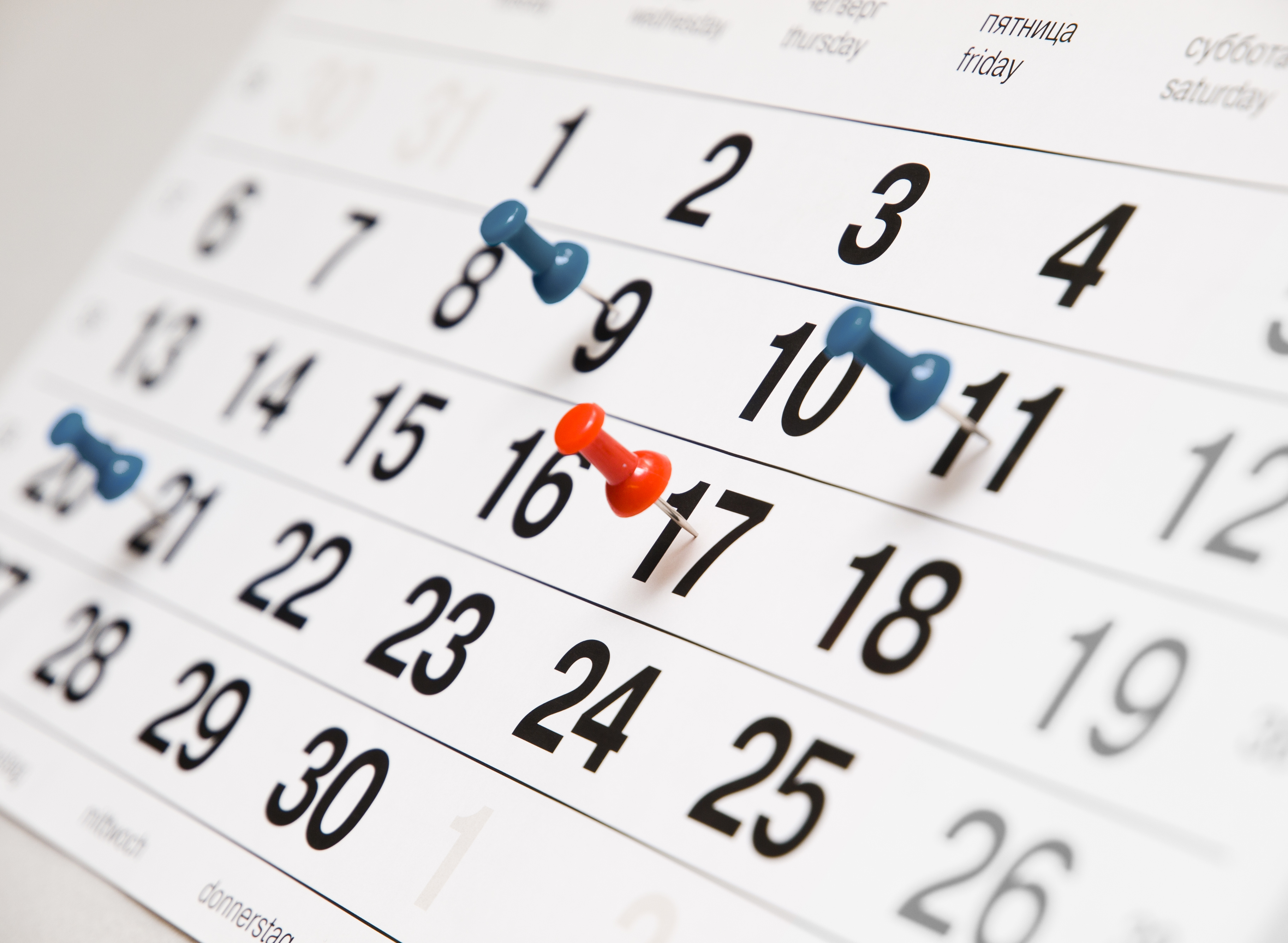 Events this month - May