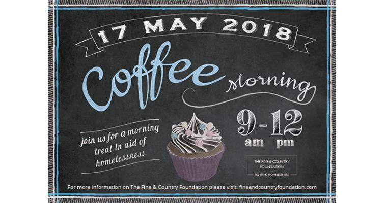 Brownies and buns: The Fine & Country Foundation Coffee Morning Returns!