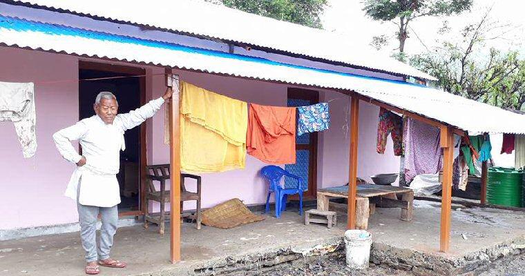 Rebuilding a village in Nepal