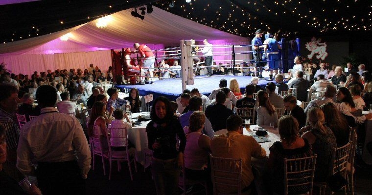 It's a knock out: Charity boxing match