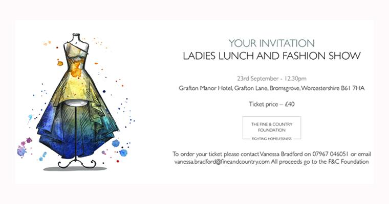 Ladies who lunch: Fine & Country Droitwich Spa Ladies Lunch & Fashion Show