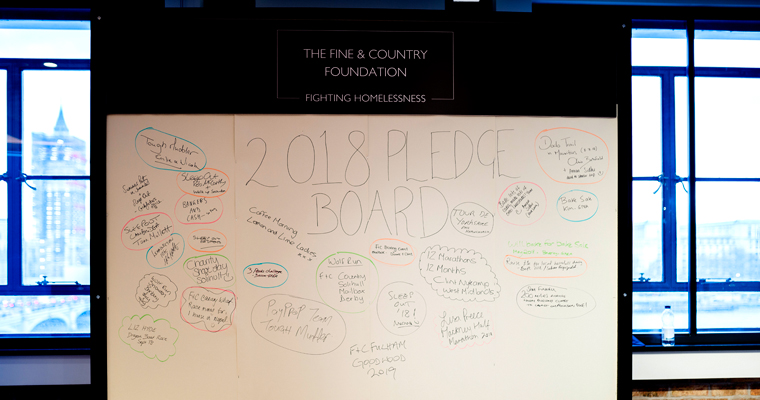 2018 Pledge List: our largest ever