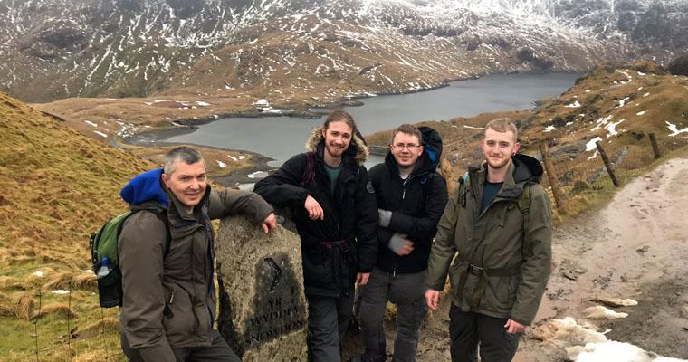 Tech team goes trekking: Mount Snowdon conquered