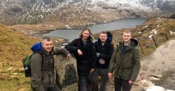 Tech team goes trekking: Mount Snowdon conquered