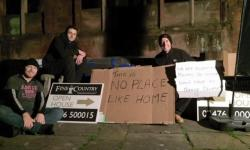 Fine & Country agents partake in Centrepoint's Sleep Out