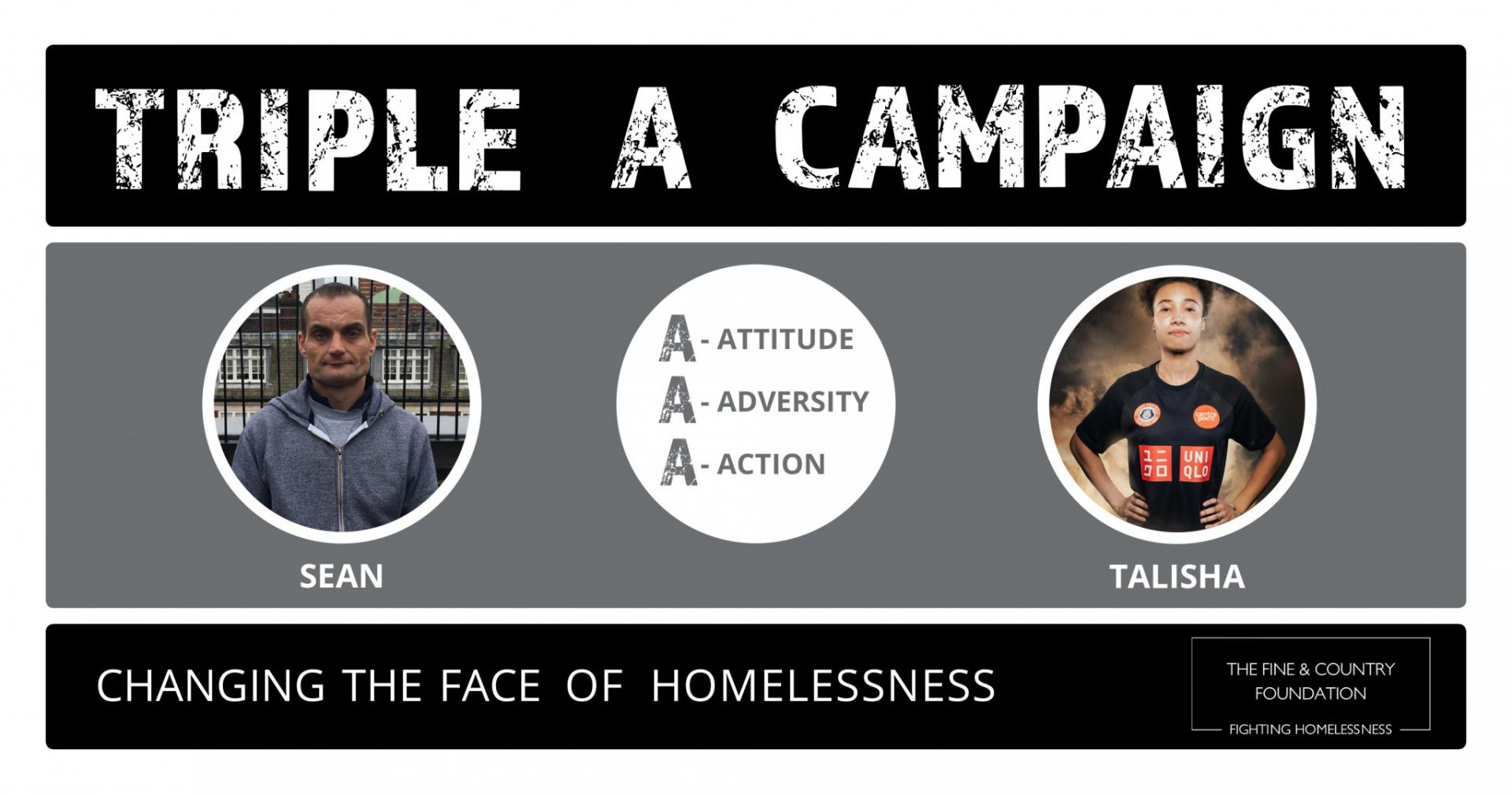 What is the Triple A Campaign? Meet the homeless success stories