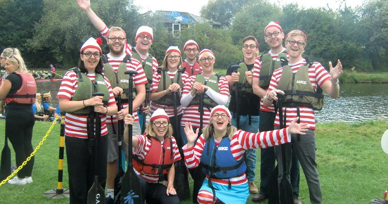 Row, row, row your boat: Cambridge Dragon Boat Race