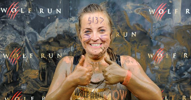 Howling with the wolves: Lucy Robinson conquers the Wolf Run