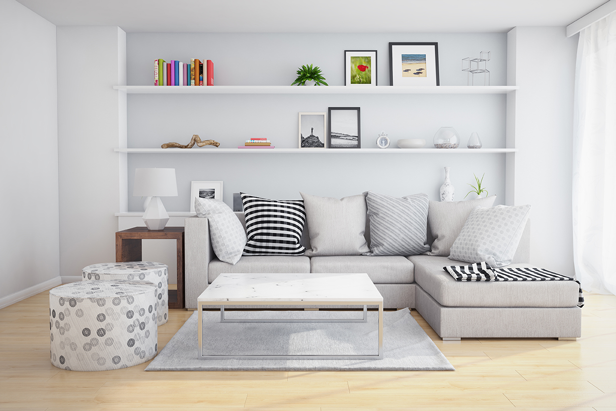 How to avoid over home-staging your property