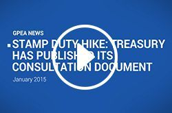 STAMP DUTY CONSULTATION DOCUMENT