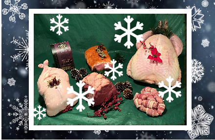 Win a Christmas Meat Hamper With Webbers