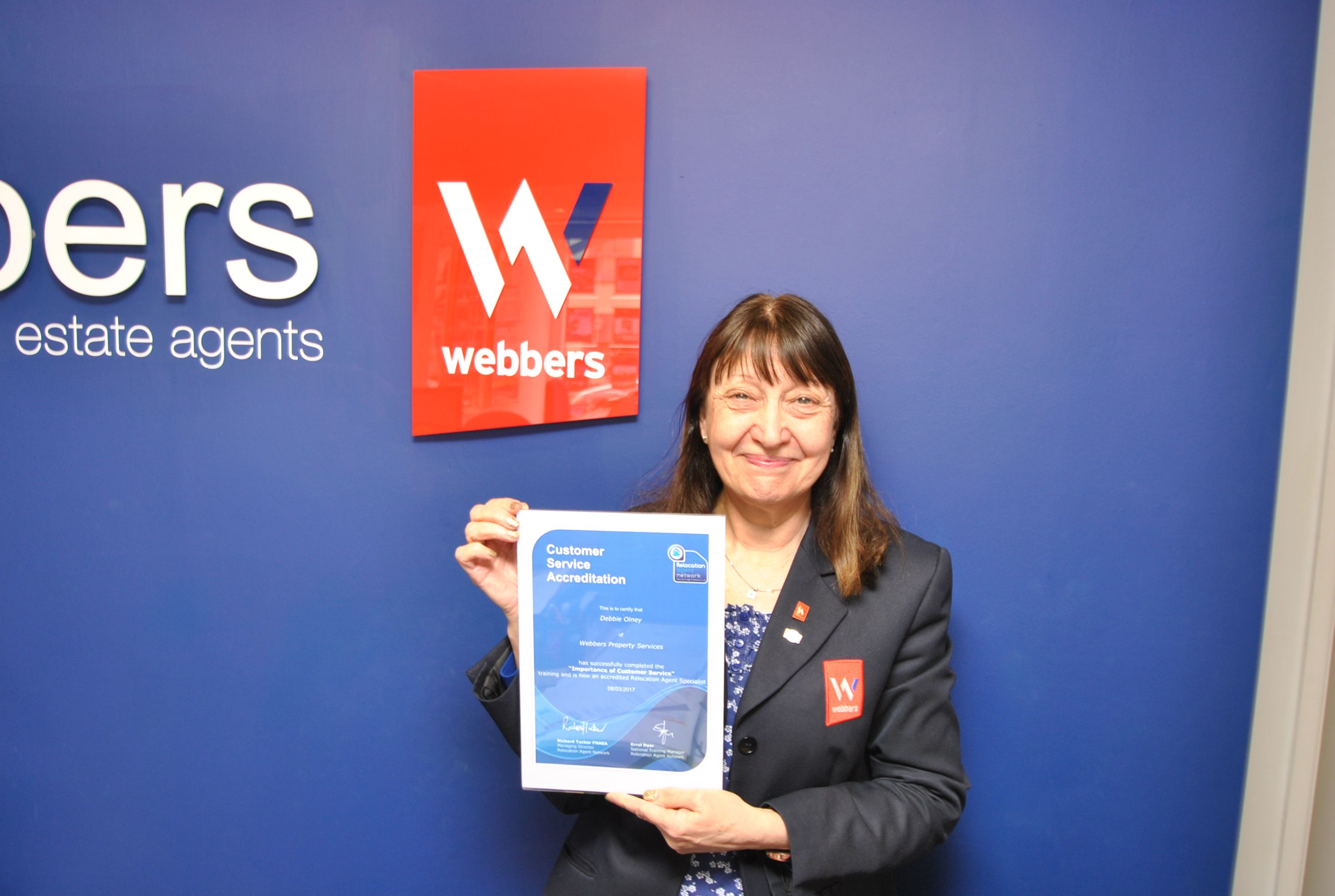 Another Relocation Specialist to add to Webbers's List