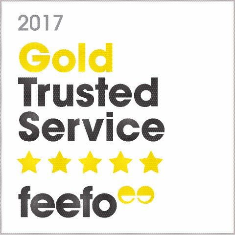 Webbers Estate Agents Awarded Feefo Gold Trusted Service Award 2017