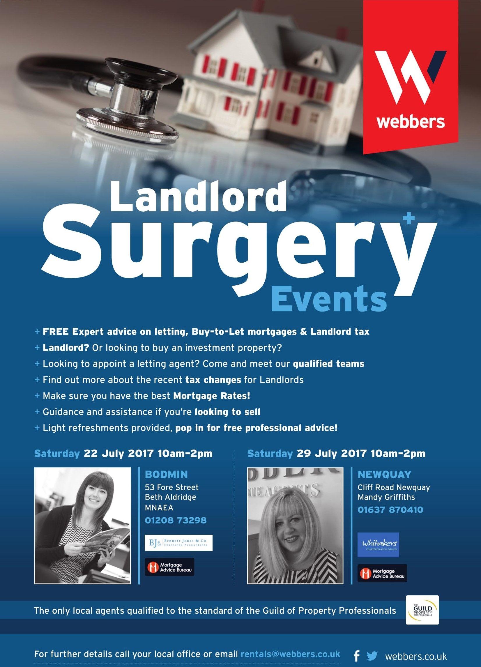 Landlord Surgery Cornwall