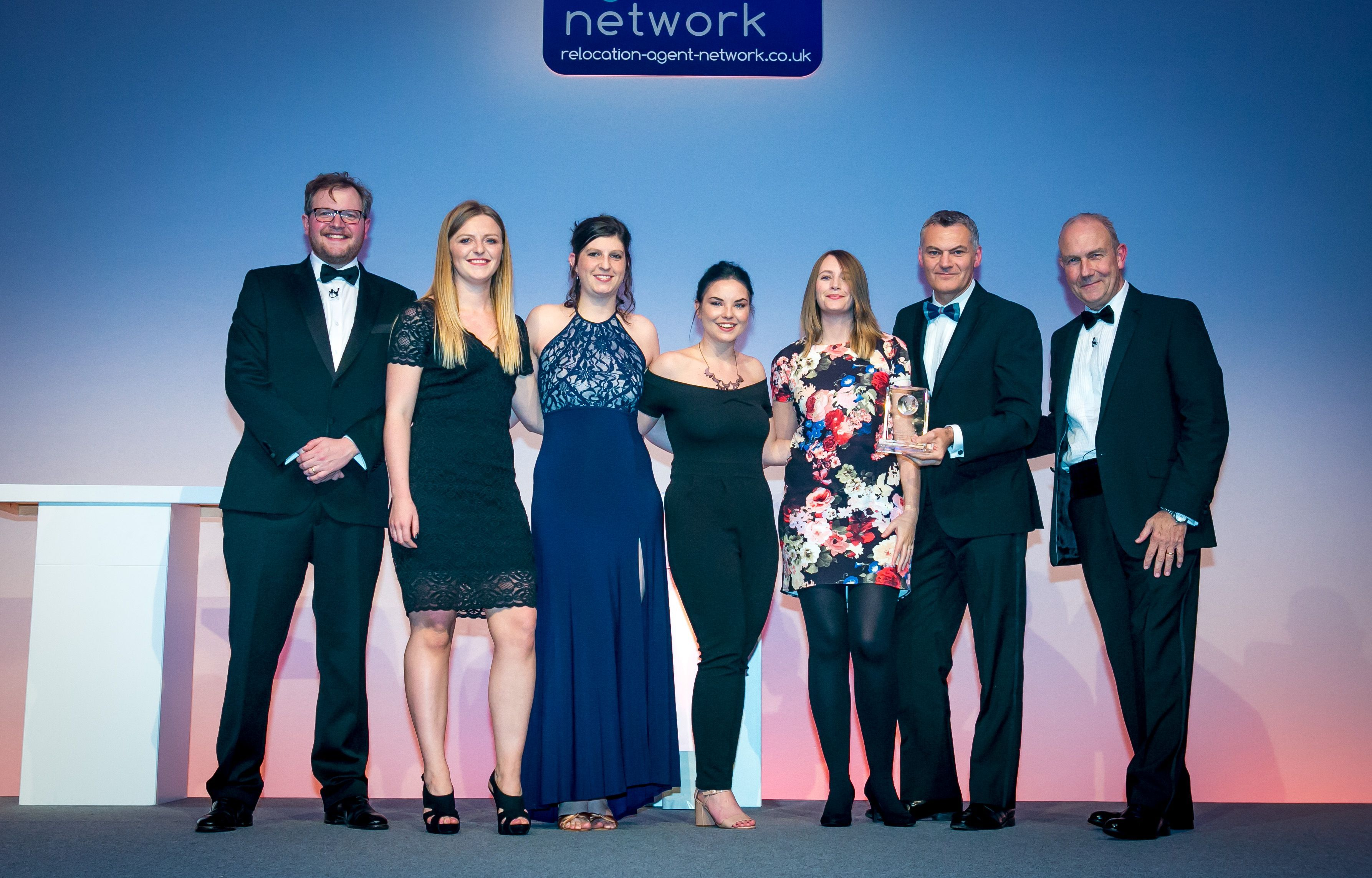 Webbers named BEST AGENT IN THE SOUTH WEST REGION and Wins CUSTOMER RELOCATION AWARD at the Relocation Agent Network Awards, London.