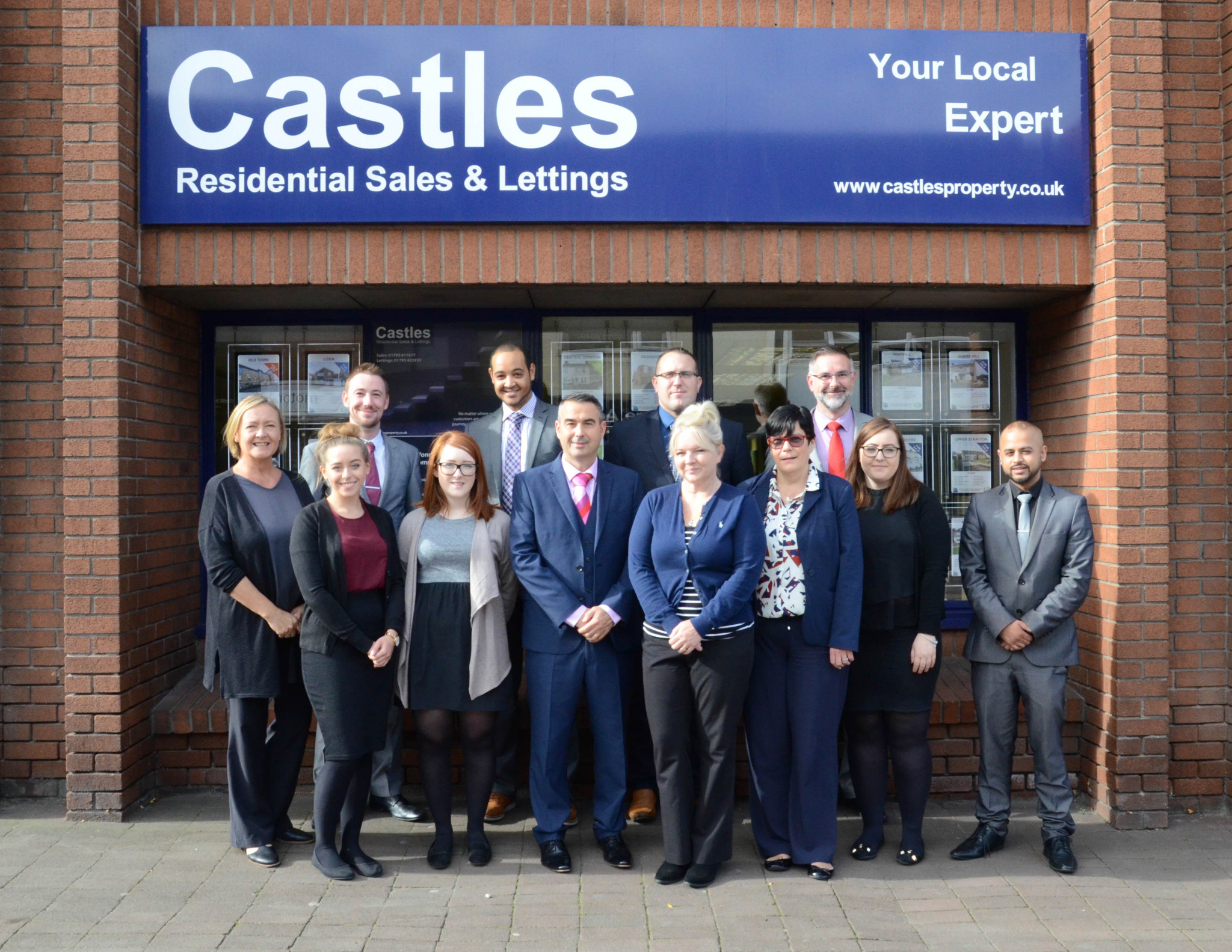 Swindon estate agents celebrate 15 years in business!