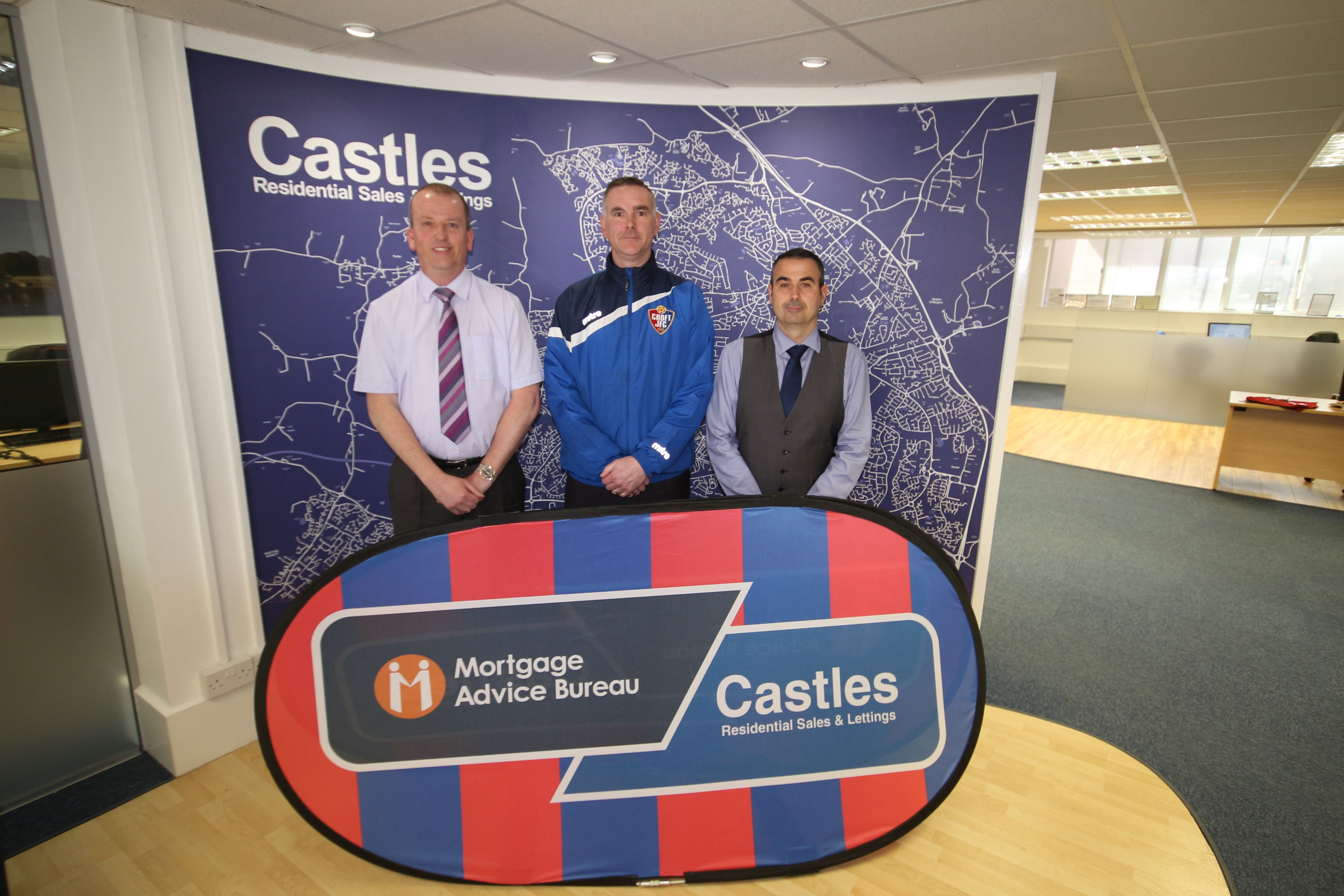 Castles to sponsor Croft JFC U15 Red team