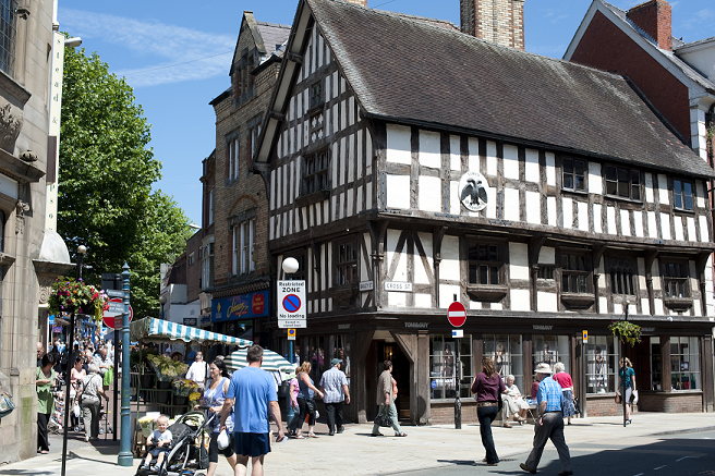 OSWESTRY NAMED ONE OF TOP 10 MOST BEAUTIFUL ENGLISH MARKET TOWNS