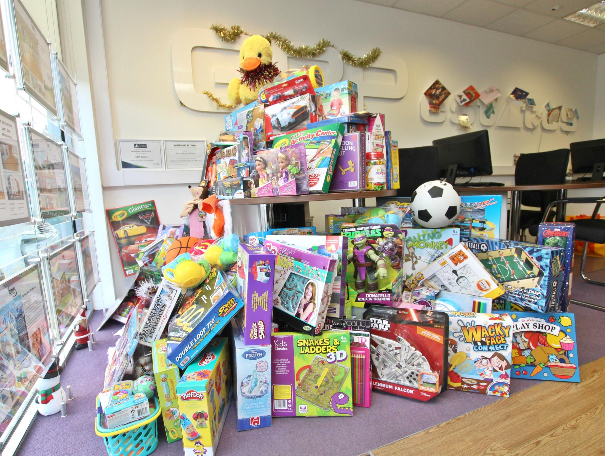 "GBP Estates ""Give A Child A Christmas"" – A Big Success!"