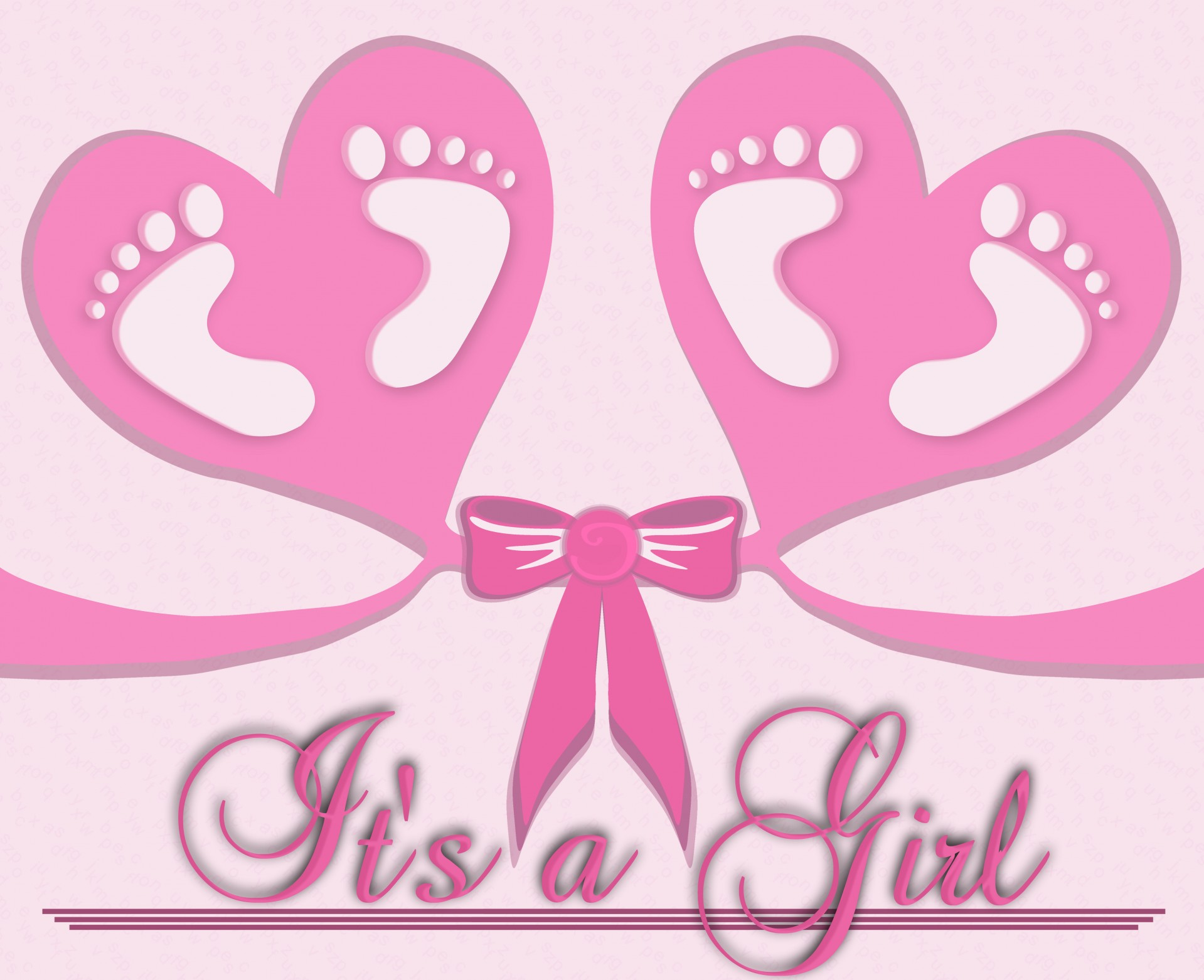 WE ARE DELIGHTED TO ANNOUNCE THE ARRIVAL OF TERRIANN'S BABY GIRL!
