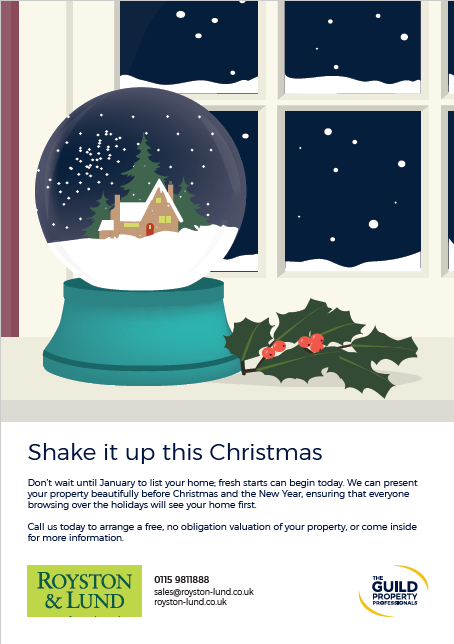 Let Us Talk to you About the Benefits of Marketing Your Property Before Christmas