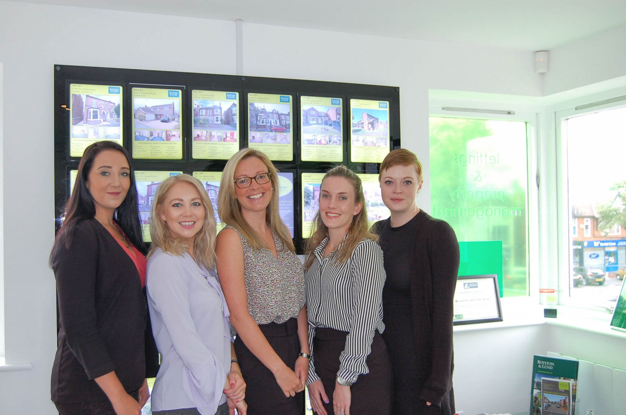 Exam Success for Five Staff Members!