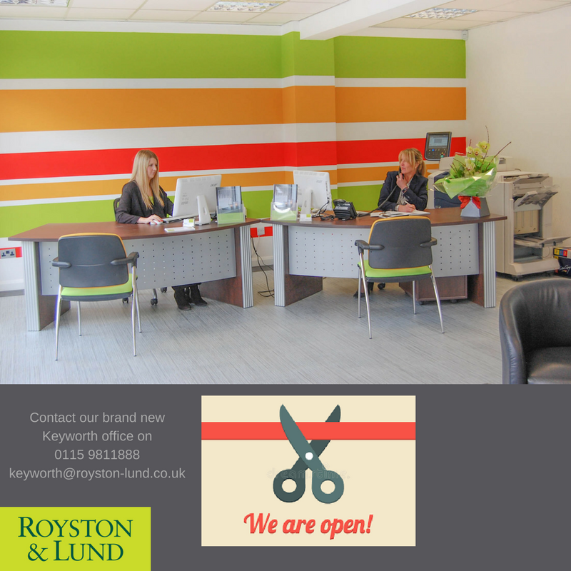 Keyworth Office is OPEN!