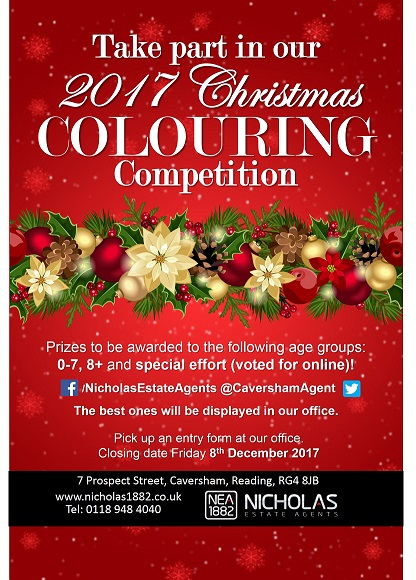 Christmas Drawing Competition now open!