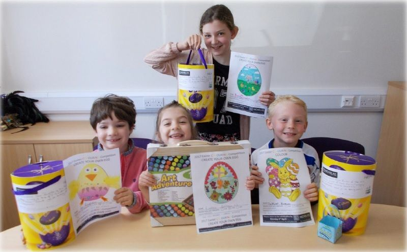 Easter Colouring Competition Results