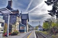 Live life on a working station along one of the UK's most scenic railway lines