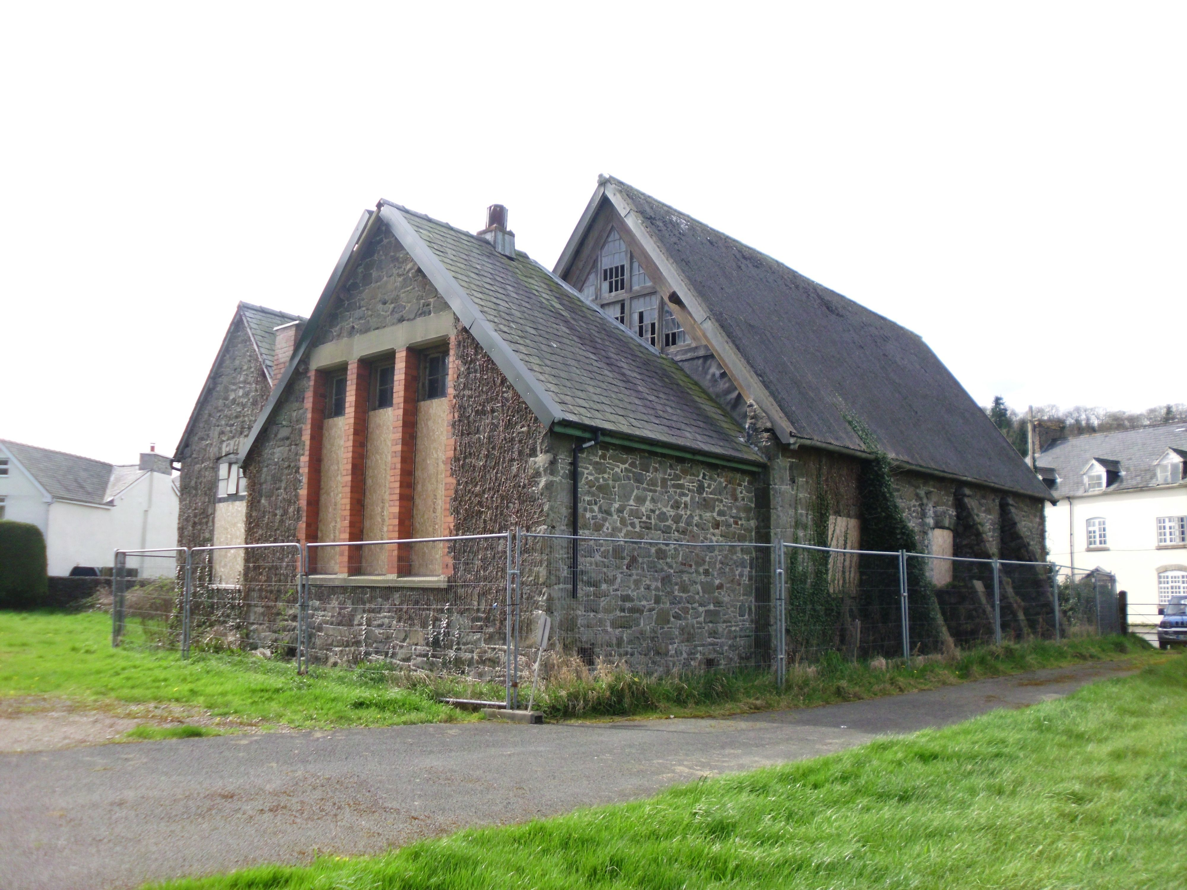former_school_meifod_3rd_april