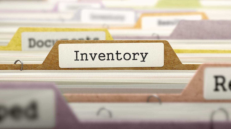 organised inventory filing