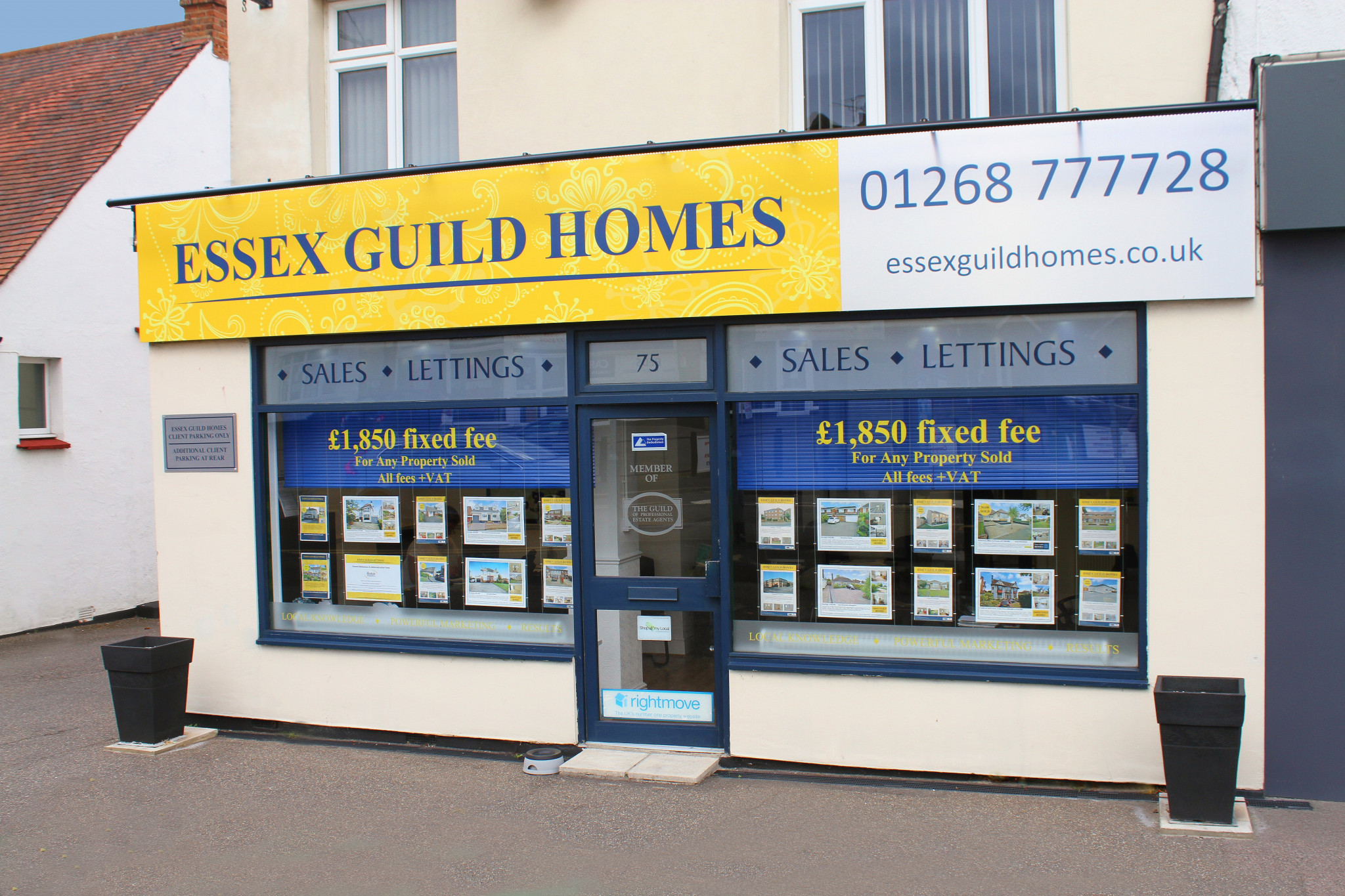 Rayleigh Estate Agent - Office