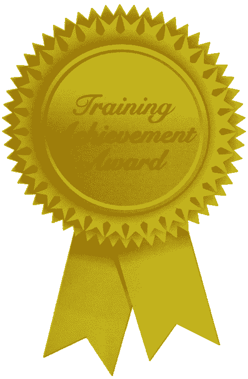 Gold Training Award