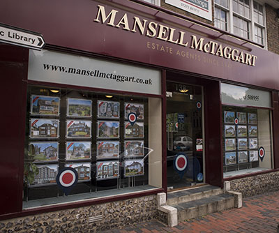 Offices of Mansell McTaggart estate agents in Brighton